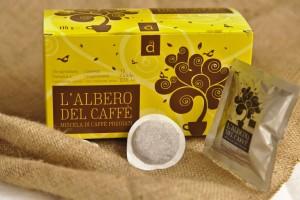 Miscela di caffè pregiati BIO (cialde)
